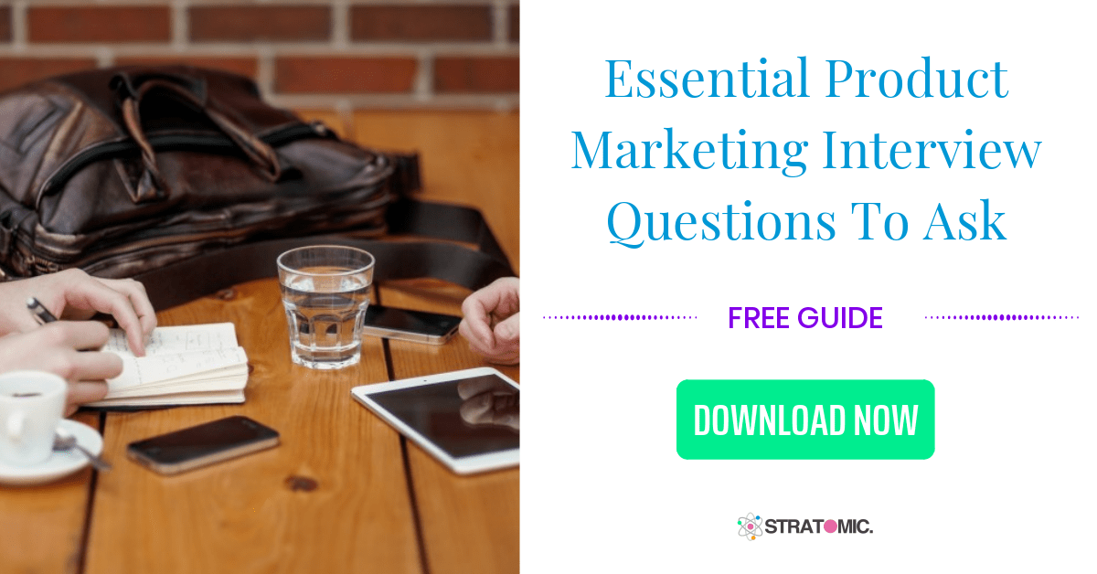 Product Marketing Interview Guide CTA