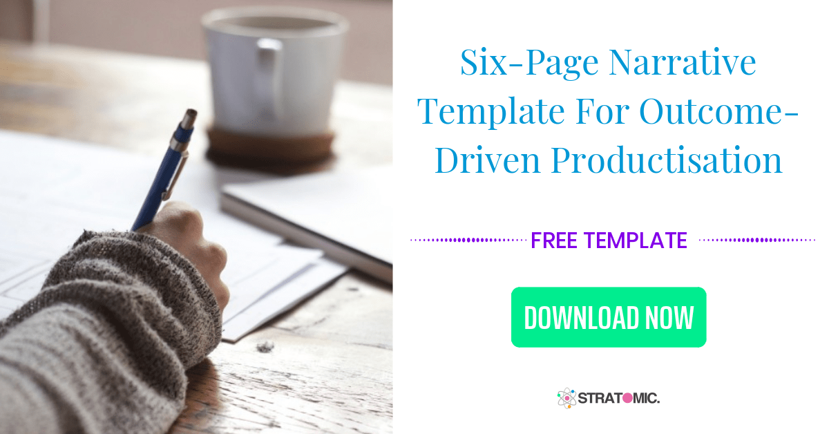 Product Planner's Six-Page Narrative Template Pack
